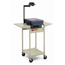 "39"" High UL Listed Overhead Projector Table"