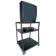High Wide-Body TV Cart