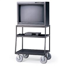 Wide-Body UL Listed TV Cart
