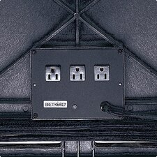 <strong>Bretford Manufacturing Inc</strong> Plastic Table 3-Outlet Electrical Unit