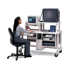 Adjustable Multimedia Workstation/Teacher Station