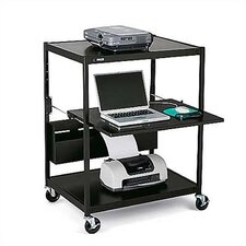 Wide Mobile Projector Cart