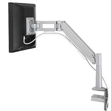 "Adjustable Height Dual Arm for Small Flat Panel Desk Mounts (Up to 22"")"