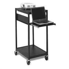 <strong>Bretford Manufacturing Inc</strong> Compact Laptop / Projector Cart with 3 Electrical Outlet