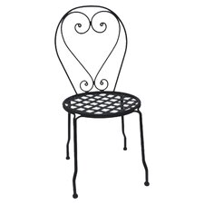 Wrought Iron Dining Side Chair, Set of 4