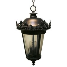 Parisian PE3900 Series 3 Light Hanging Lantern