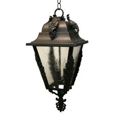 <strong>Melissa Lighting</strong> Parisian PE1700 Series 3 Light Hanging Lantern