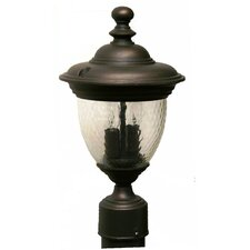 "<strong>Melissa Lighting</strong> Tuscany 2 Light 15.25"" Post Lantern"
