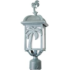 "<strong>Melissa Lighting</strong> Americana Palm Tree Series 1 Light 18.5"" Post Lantern"