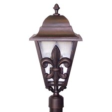 "Americana Fleur De Lis Series 3 Light 29"" Post Lantern"