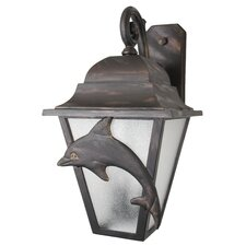 Americana Dolphin Series Wall Lantern