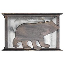 Americana Bear Series Flush Mount