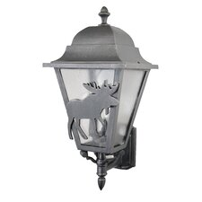 Americana Moose Series Wall Lantern