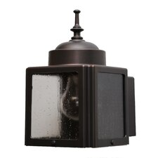 Kiss Series 1 Light Outdoor Wall Lighting