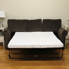 "<strong>Classic Brands</strong> 4.5"" Gel Memory Foam Sofa Mattress"