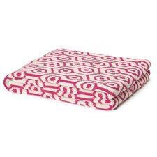 Eco Geo Cotton Throw Blanket