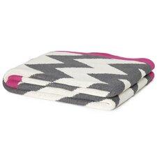 Eco Designer Zigzag Chevron Throw Blanket