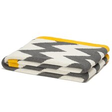 Eco Designer Zigzag Chevron Throw Blanket