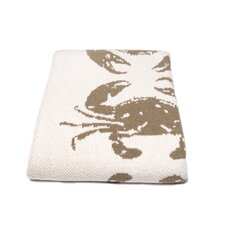 <strong>In2Green</strong> Eco Crab Cotton Throw Blanket
