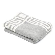 Eco Greek Key Throw Blanket