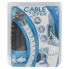 "96"" Cable Zipper Complete Cable and Wire Management System"