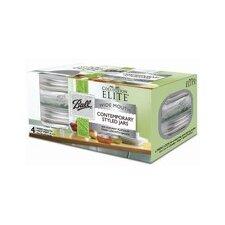 Platinum Collection Elite 8-oz. Jar (Set of 4)