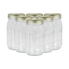 Ball Half Gallon Wide Mouth Canning Jar (Set of 6)
