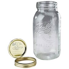 Half Gallon Wide Mouth Canning Jar (Set of 6)