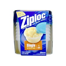 <strong>Johnson Wax</strong> Ziploc Single Serving Container (Set of 6)