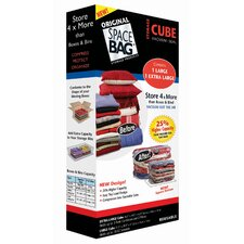 Bag Vacuum Seal Cube (Set of 2)