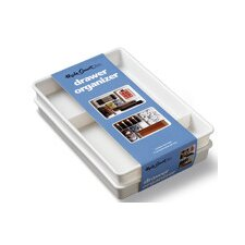 <strong>Made Smart Housewares</strong> Two Piece Drawer Organizer Tray (Set of 2)