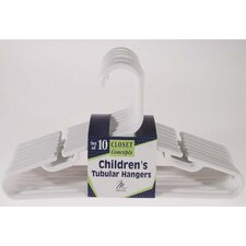 <strong>Merrick</strong> Children's Tubular Hanger (Set of 10)