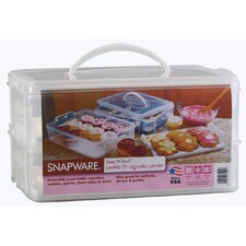 <strong>Snapware</strong> Large Two Layer Cupcake Keeper