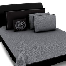 <strong>Hallmart Collectibles</strong> Mila Coverlet 5 Piece Coverlet Set