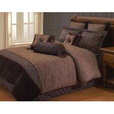 Opulent Paisley 9 Piece Queen Comforter Set
