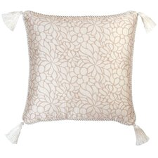 Lumina Synthetic Pillow with Cord and Tassels