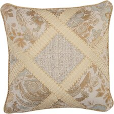 St. Lucia Synthetic Pillow with Wide Braid and Cord