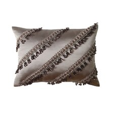 La Rose Synthetic Pillow with Tassel Fringe