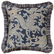 Hampton Synthetic Pillow with Brush Fringe