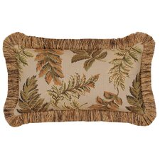 Woodland Synthetic Pillow with Brush Fringe