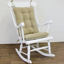 Standard Cherokee Solid Rocking Chair Cushion Set