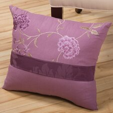 <strong>Sandy Wilson</strong> Daphne Decorative Pillow with Embroidery