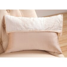 Organic Decorative Pillow with Ribbon