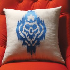 Ikat Embroidered Decorative Pillow II