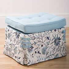 Cashmir Curved Pillow Top Cube Ottoman