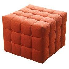 Bella Tufted Cube Ottoman