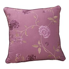 Daphne Decorative Pillow with Self Cord in Brown