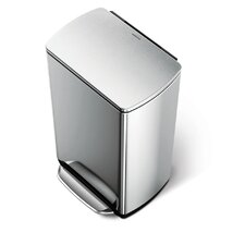 38-Litre Fingerprint Proof Pedal Bin