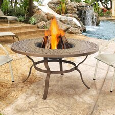 Florence Wood Burning Fire Table