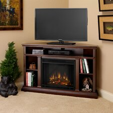 "<strong>Real Flame</strong> Churchill 51"" TV Stand with Electric Fireplace"